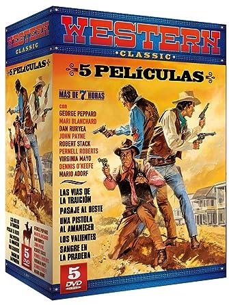 Pack Western Classic: Las Vías de la Traición + Pasaje al Oeste + ...