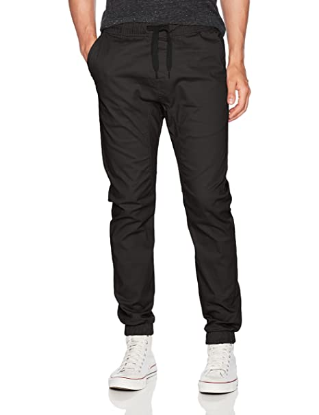 buy good superior quality online store WT02 Men's Jogger Pants in Basic Solid Colors and Stretch Twill Fabric
