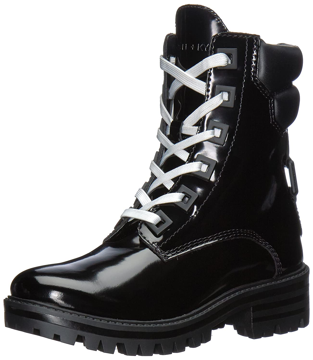 KENDALL + KYLIE Women's East Combat Boot B07117HNMP 5 B(M) US|Black