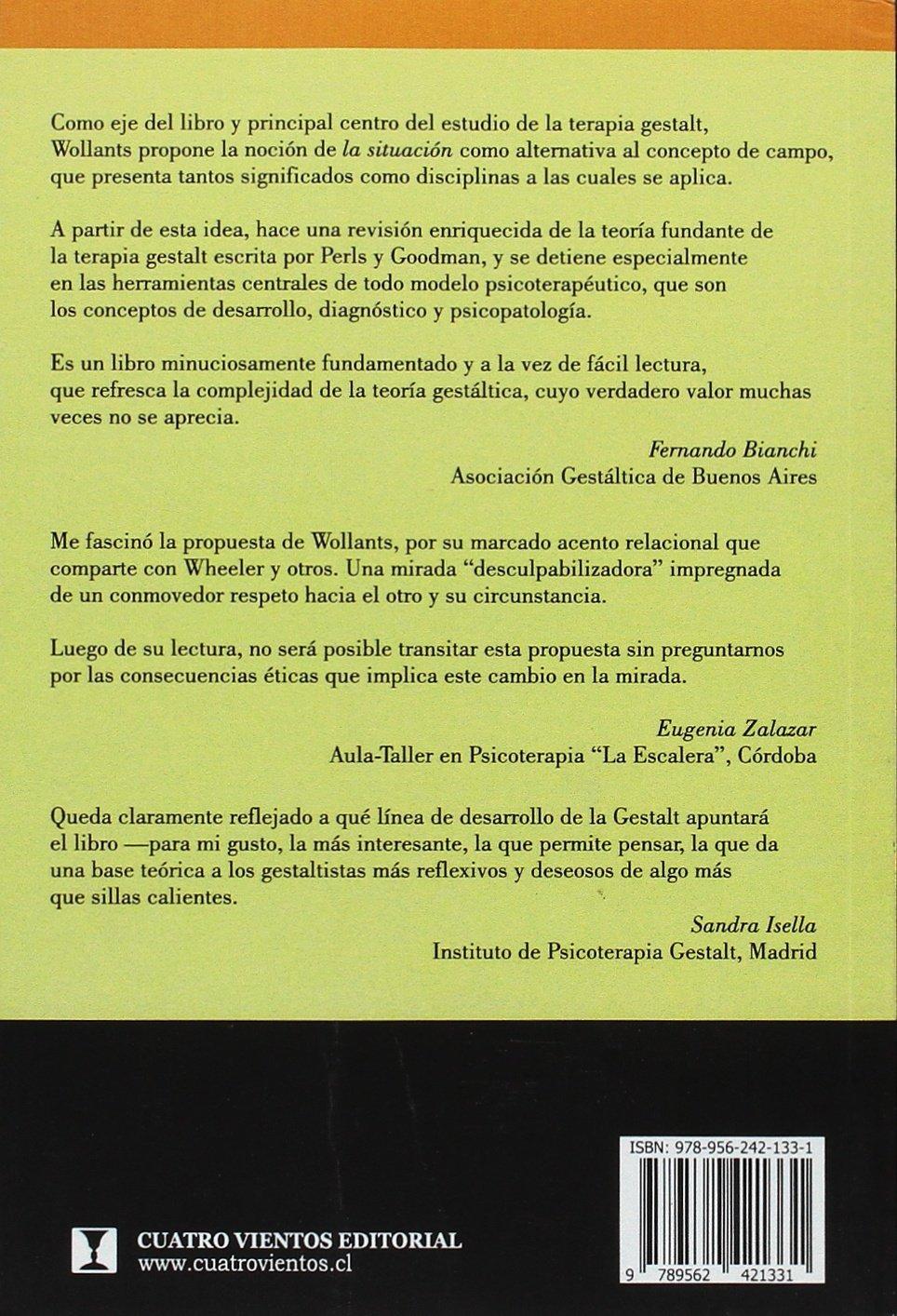 Amazon.com: Gestalt: Terapia de la situación (Spanish ...