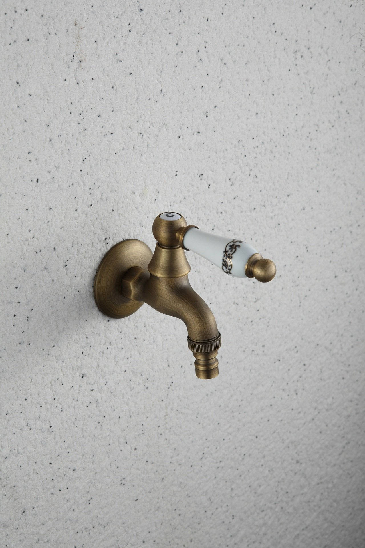 LINA@ European ceramic antique copper single cold in-wall shower/bath mixer by Lina-faucet