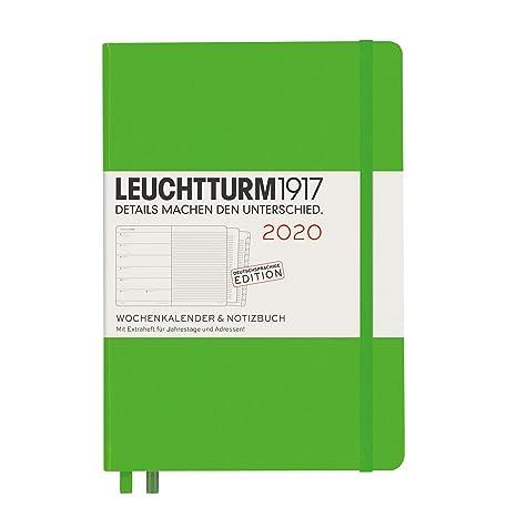 Amazon.com: Weekly Calendar & Notebook 2020 - Cuaderno de ...