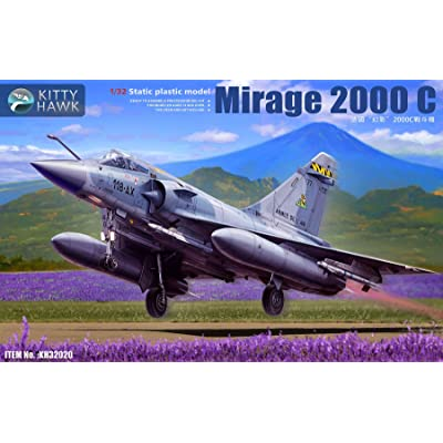 Kitty Hawk KH32020 1/32 Mirage 2000C Model Building Kit: Toys & Games
