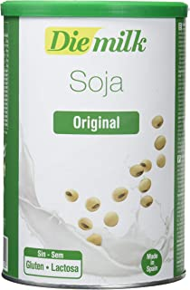 Leche Polvo Soja Diemilk 400 gr de Almond: Amazon.es: Salud ...