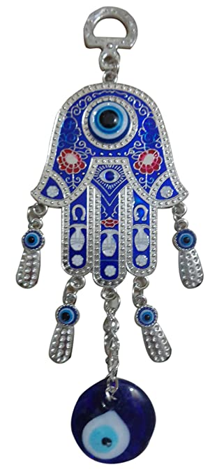 Metal Home Blessing HAMSA Hand Door Wall Car Hanging Evil Eye Luck Decor 346  sc 1 st  Amazon.com & Amazon.com: Metal Home Blessing HAMSA Hand Door Wall Car Hanging ...
