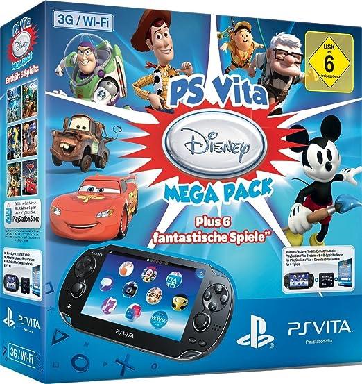 Sony PS Vita + Mega Pack Disney - videoconsolas portátiles ...