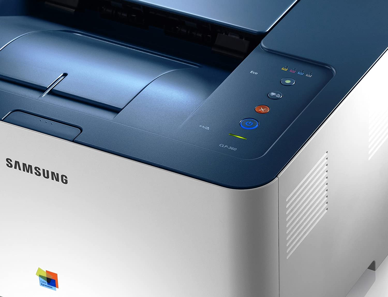Samsung CLP-360 - Impresora láser (B/N 18 ppm, 2400 x 600 dpi, USB ...