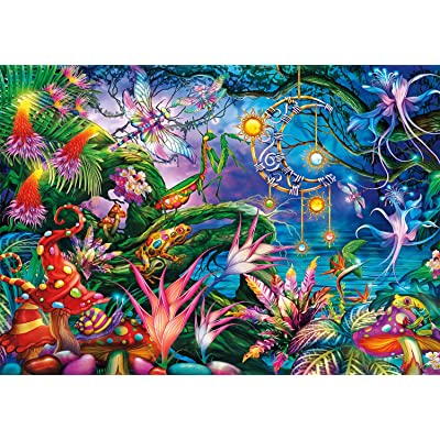 Buffalo Games - Vivid Collection - Fairy Forest - 300 Large Piece Jigsaw Puzzle: Toys & Games