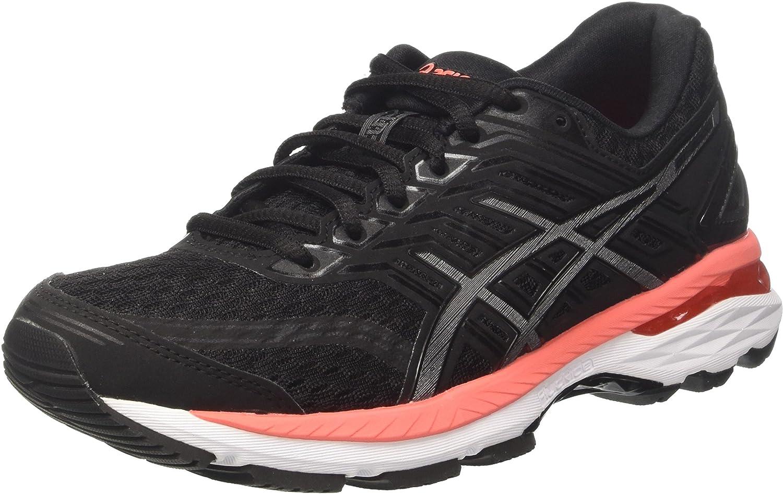 Noir (noir   voiturebon   Flash Coral) 41.5 EU ASICS Gt-2000 5, Chaussures de FonctionneHommest Femme