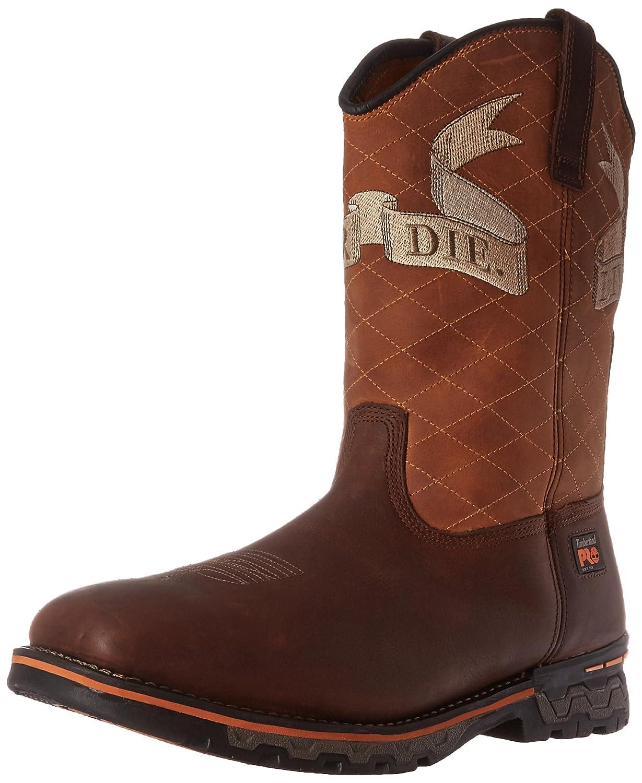 Timberland PRO メンズ B019EHH86S 9 D(M) US|Brown Full Grain Leather Brown Full Grain Leather 9 D(M) US