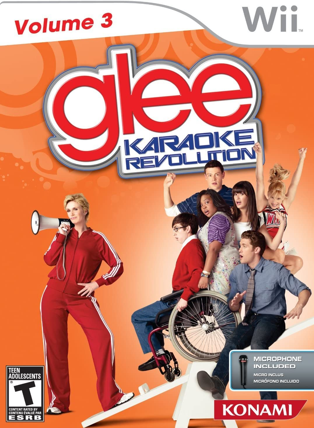 Konami Karaoke Revolution Glee - Juego: Amazon.es: Videojuegos