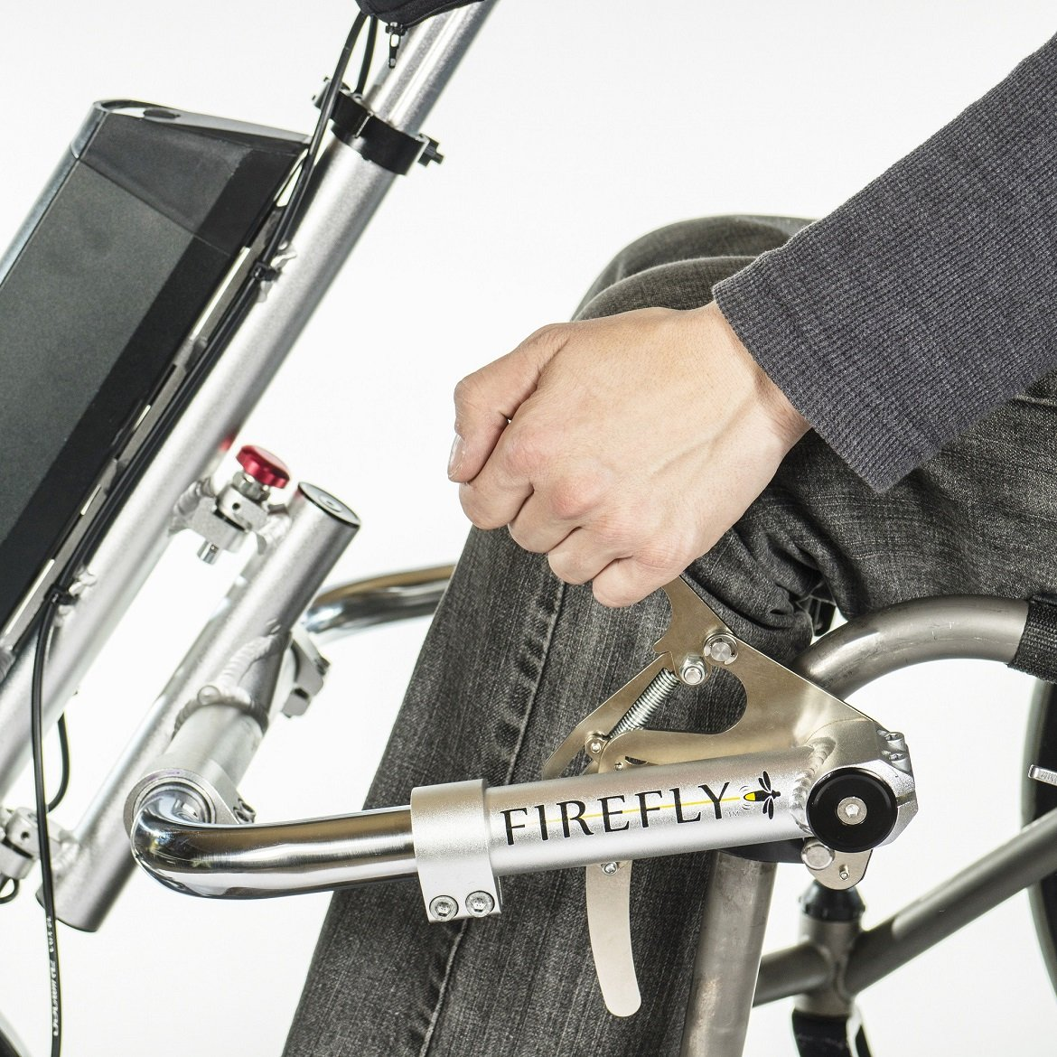 Electric bike adaption for wheel chair youtube - Amazon Com Firefly Electric Attachable Handcycle For Wheelchair Health Personal Care