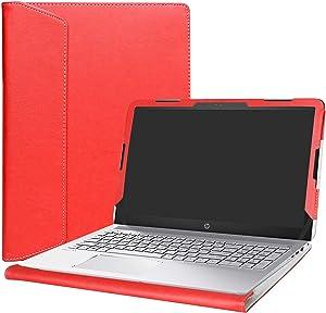 """Alapmk Protective Case Cover for 15.6"""" HP Pavilion 15 15-auXXX (15-au000 to 15-au999,Such as 15-au123cl) Laptop(Warning:Not fit Pavilion 15 15-abXXX/15-ccXXX/15-csXXX/15-bcXXX Series),Red"""