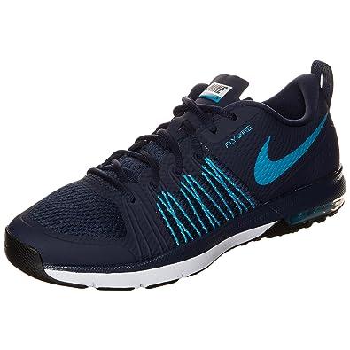 0b1591cb1a Nike Air Max Effort TR, Chaussures de Sport Homme, Bleu/Blanc/Noir