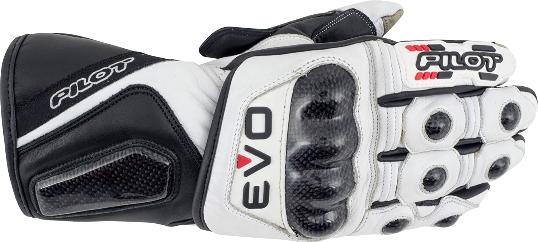 Pilot Motosport EVO Full Length Leather Motorcycle Racing Glove 4000502-06