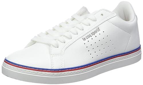Le Coq Sportif Courtace Sport Optical White, Zapatillas para Mujer: Amazon.es: Zapatos y complementos