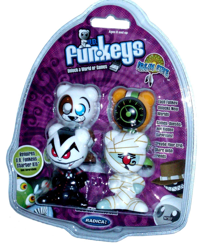 【ラッピング不可】 Mattel Radica U.B. Funkeys Dream Dream State 4 Funkeys Pack Set by with Waggs, Drift, Vlurp and Ptep (Requires U.B. Funkeys Starter Kit, Sold Separately) by Funkeys B0053CGXQU, KOTEN:e2e12792 --- arianechie.dominiotemporario.com