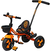Luusa RX-500 Tricycle with Parental Control (Orange)
