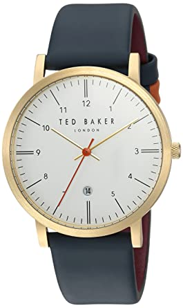 eba833a2a44f Ted Baker Male    Samuel  Stainless Steel Quartz Watch with Black Strap
