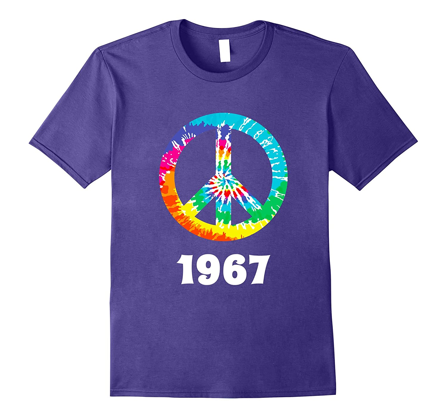 1967 Peace Sign Hippie T Shirt-ANZ