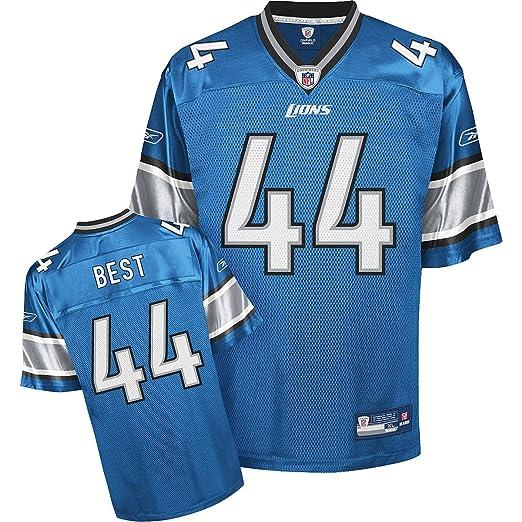 sale retailer f3de6 0356b Reebok Detroit Lions Jahvid Best Replica Jersey Large