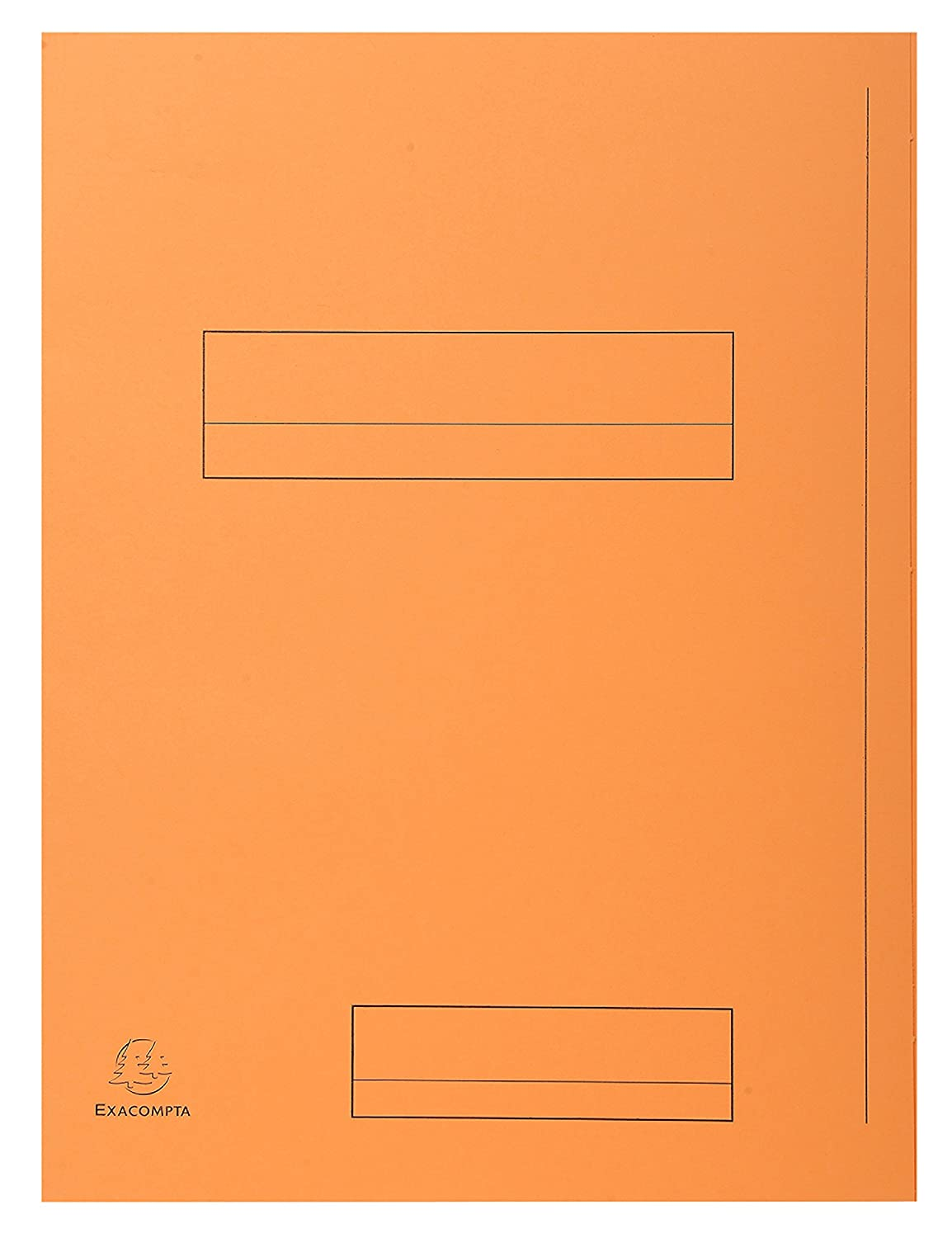 Exacompta Jura Pack of 50/ Folders with 2/ Flaps Card 240/ Grams/  / Orange