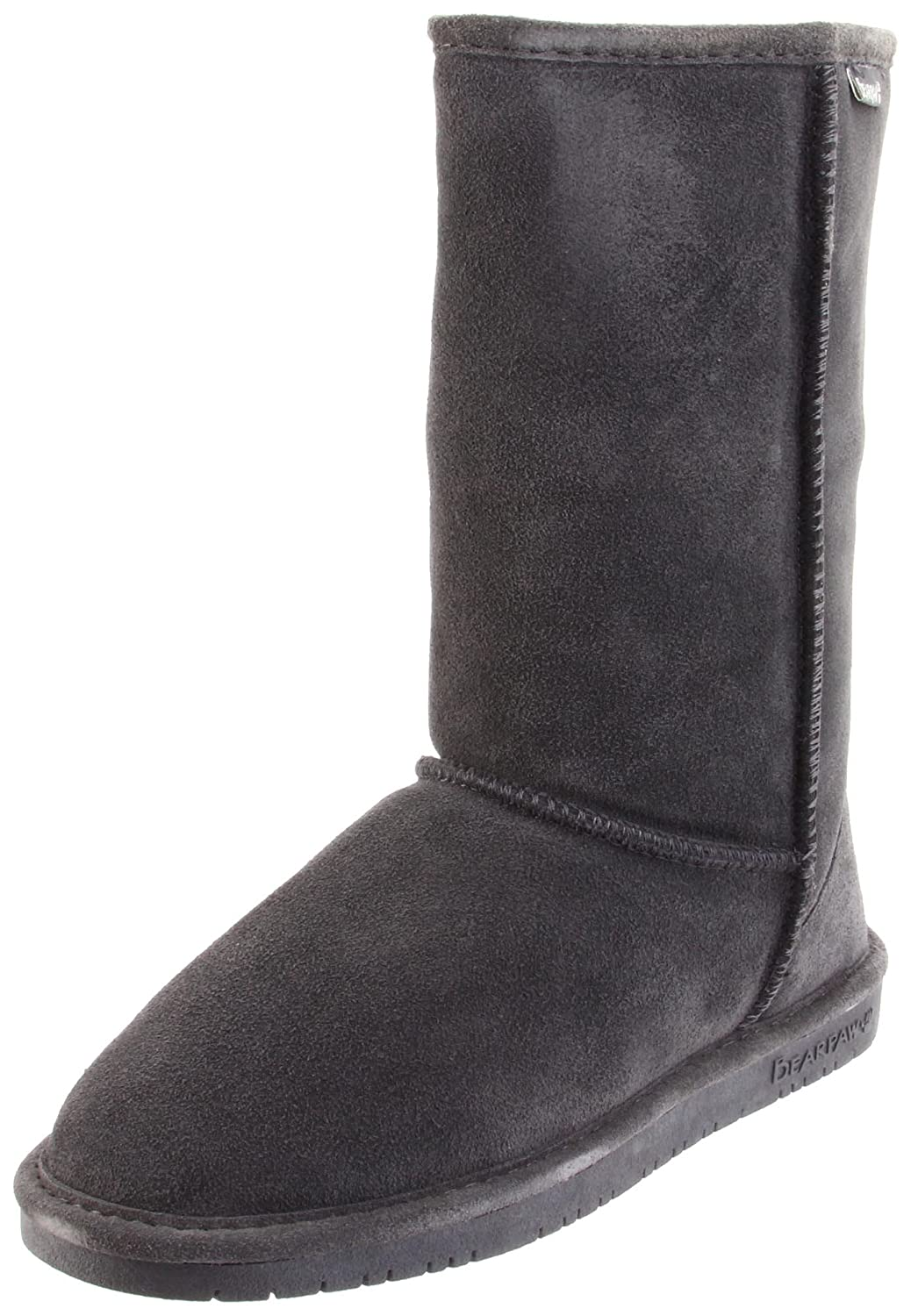 Bearpaw Emma Tall, Botas con forro Mujer Gris (Charcoal 030)