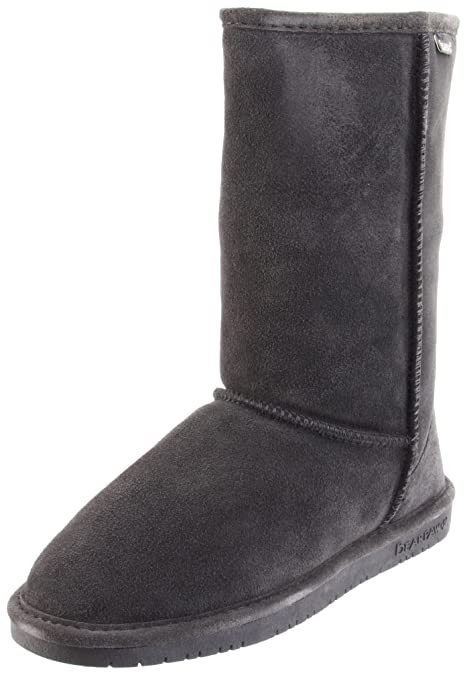 Bearpaw Emma Tall, Botas con forro Mujer, Gris (Charcoal 030), 36
