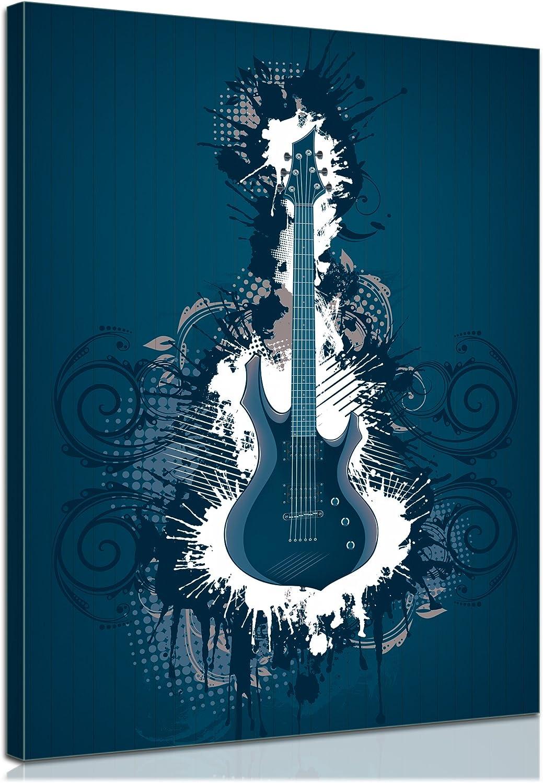 Bilderdepot24 Bastidor Imagen - Cuadros en Lienzo Guitarra ...