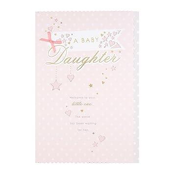 Hallmark 25479946 - Tarjeta de felicitación para bebé ...