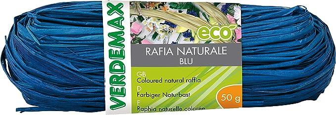 colore blu VERDEMAX 4510/Coil Rafia Naturale 50/g
