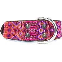 XG Collar artesanal extra grande para perro, hecho en Chiapas, México
