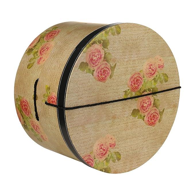 Lierys Caja Sombrero Antique Rose 38 cm by sombrereracaja para (Talla única  - Beige) 27e55b363ea