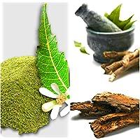 Organic sun-dried Neem Leaves and Flowers powder