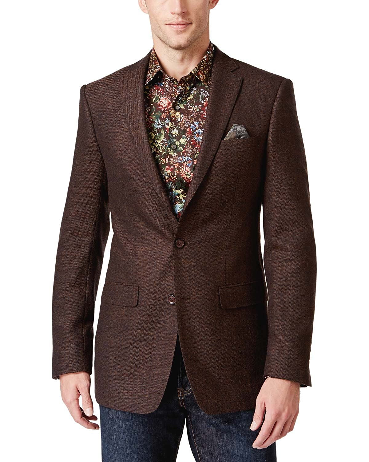 Tallia Men's Herringbone Sport Coat