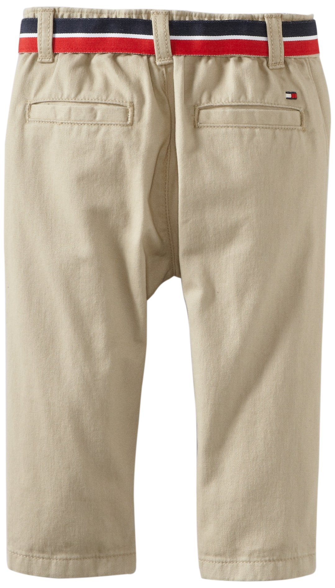 Tommy Hilfiger Baby Boys' Charlie Flat Front Pant, Travel Khaki, 24 Months by Tommy Hilfiger (Image #2)