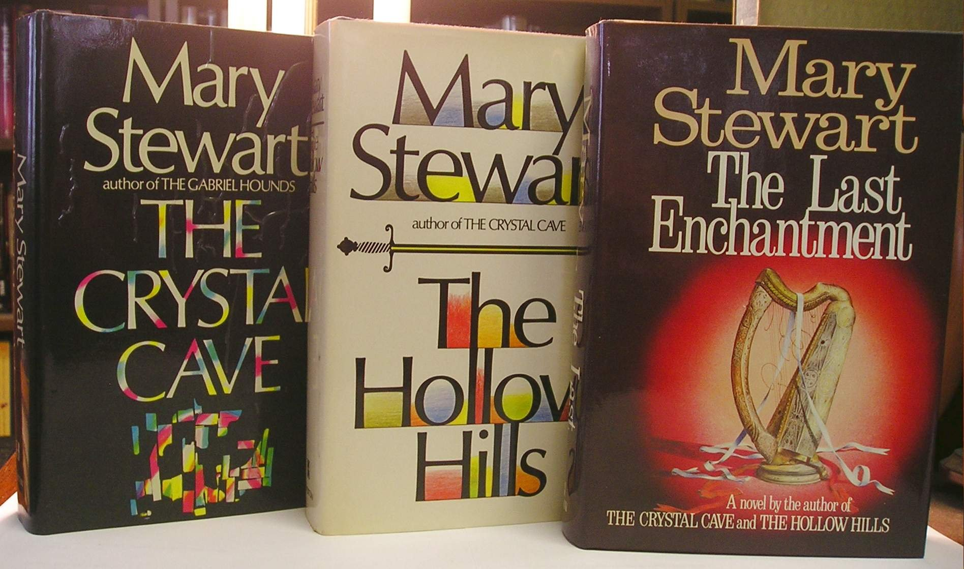 The Original Merlin Trilogy (The Crystal Cave, The Hollow Hills, The Last  Enchantment): Mary Stewart: Amazon.com: Books