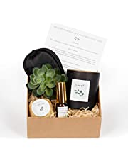 Natural Relaxation Bath Gift Set: Pamper Relax, Sleep & Bath Kit. Large Bath Bomb, Essential oil Scented Wax Candle, Chamomile & Lavender Mist Spray, Luxury Eye Mask. Perfect Gift for all Occasions.
