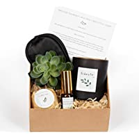 Luxury Bath Candle Pamper Sleep Gift Set. Perfect Gift, Relaxation, Wellness and Immune Booster! Perfect Gift options…