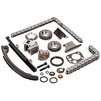 Fits 91-98 Nissan 2 4 DOHC 16V KA24DE Timing Chain Kit w/o Gears