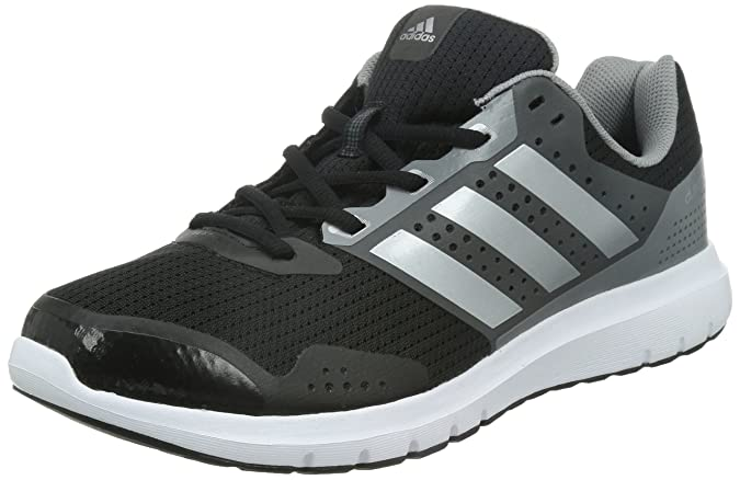 best cheap 650b9 d2471 adidas Duramo 7 M, Mens Competition Running Shoes, Black (Core Blacksilver  Metallicch Solid Grey), 9.5 UK (44 EU) Amazon.co.uk Shoes  Bags