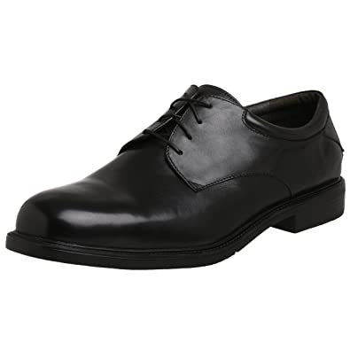 Men's Nunn Bush Mayfield St. Lace to Toe Oxford, Size: 10 W, Black Leather