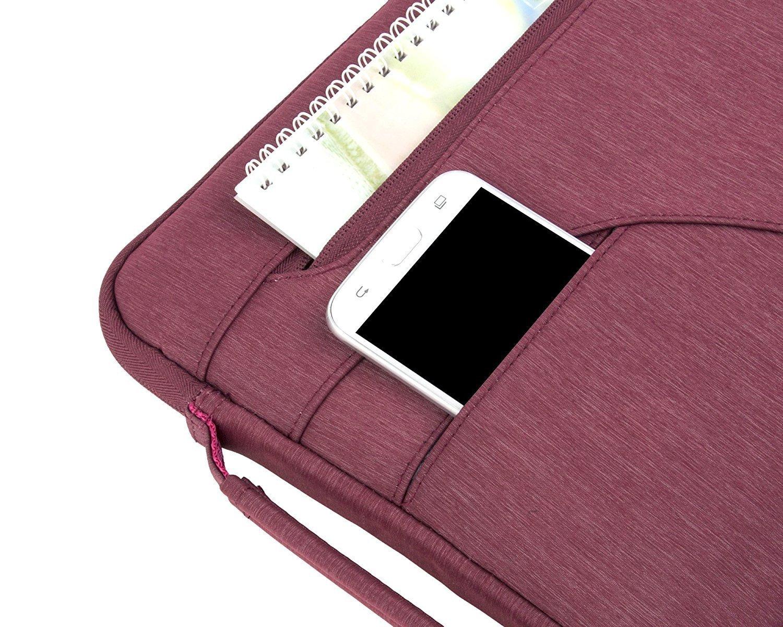 MOSISO Portatile Spalla Borsa con Tasca Laterale Compatibile 2018//2017//2016 MacBook PRO 15 Pollici A1990//A1707,14 Pollici Ultrabook Notebook,Poliestere Protettiva Borsa a Tracolla Nero