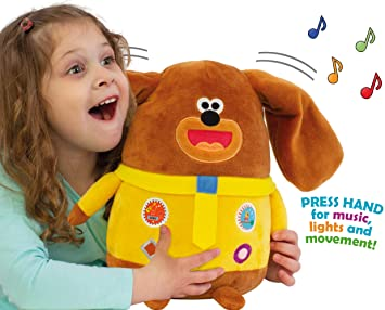 Hey Duggee 1965 - Peluche de Peluche, Color marrón: Amazon ...