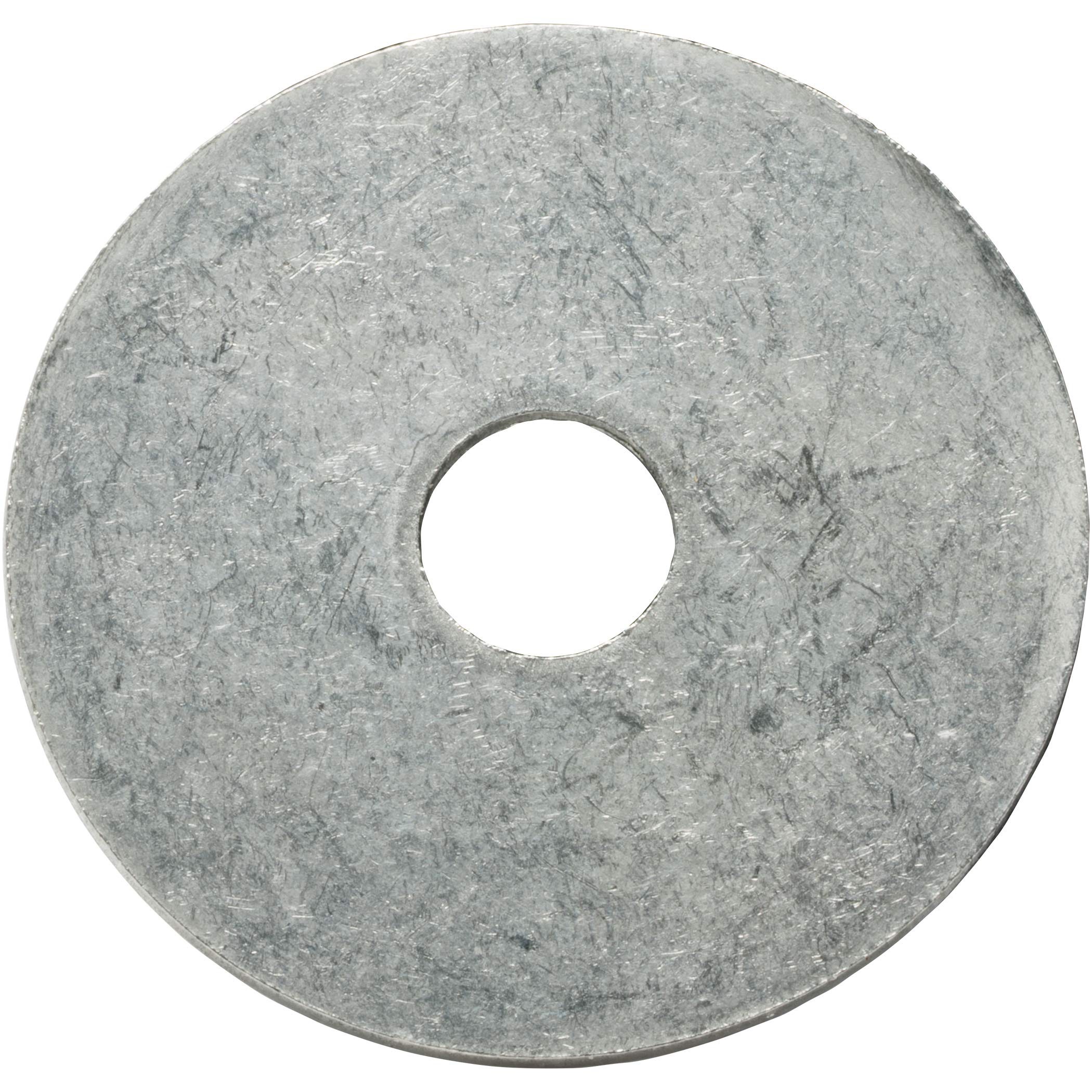 1/4 x 2'' Fender Washers, Large Diameter, Stainless Steel 18-8, Plain Finish, Quantity 500 by Fastenere