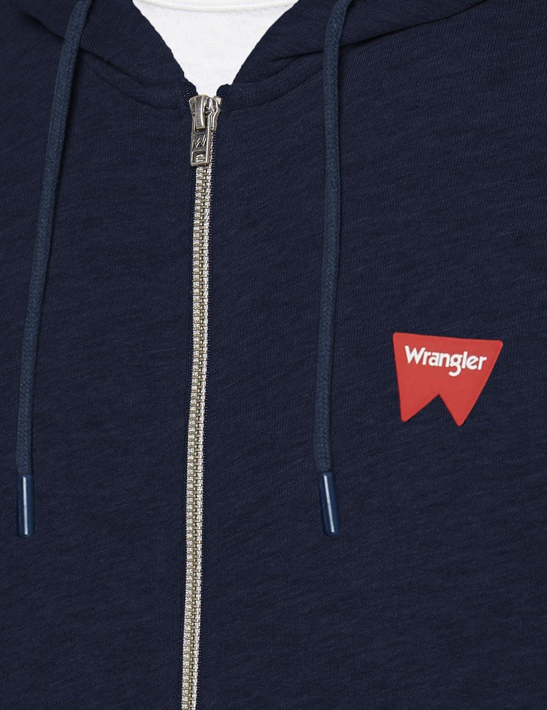 Wrangler Sign off Zipthru Felpa Uomo