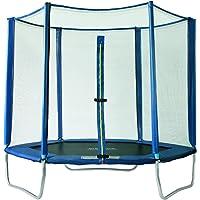 SixBros. SixJump 1,85 M - 4,60 M Trampolín Cama elástica de jardín - Escalera Diferentes tamaños