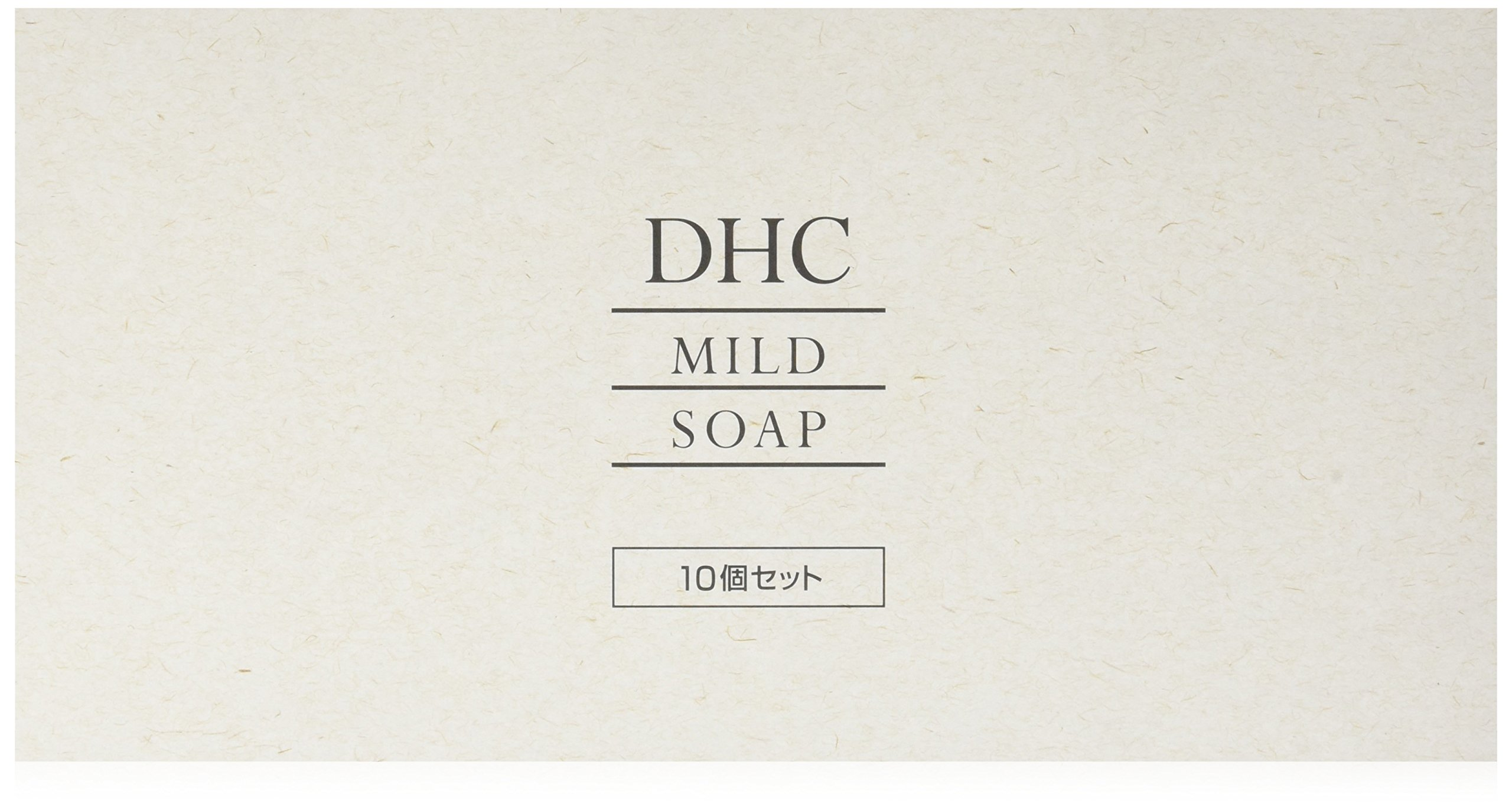Japan Health and Beauty - DHC mild soap 10 pieces *AF27*