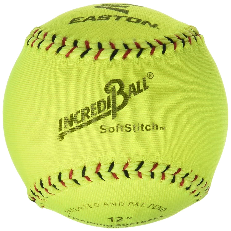 Ragballs a122609t Incrediball Softball de poliéster, 12'tamaño, Amarillo