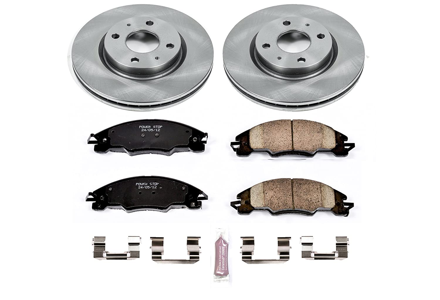 Autospecialty KOE4726 Daily Driver OE Brake Kit Front